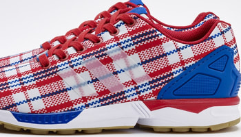 adidas Consortium ZX Flux Red/White-Blue