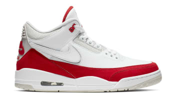 Air Jordan 3 Retro Tinker White/University Red-Neutral Grey