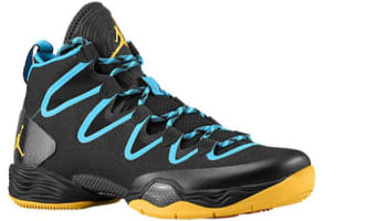 Air Jordan XX8 SE Black/Atomic Mango-Dark Powder Blue