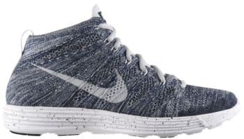 Nike Lunar Flyknit Chukka Squadron Blue/Pure Platinum-Obsidian-White