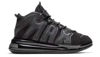 Nike Air More Uptempo 720 Black/Black-Black