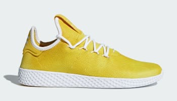 Pharrell Williams x adidas Tennis Hu Bright Yellow/Footwear White-Footwear White