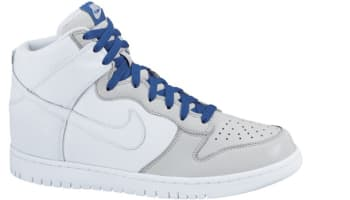 Nike Dunk High White/White-Neutral Grey