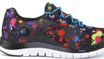 Reebok Z Pump Fusion Black/White-Red-Pink-Yellow-Blue