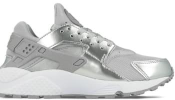 Nike Air Huarache Premium Women's Metallic Silver/Metallic Silver-White
