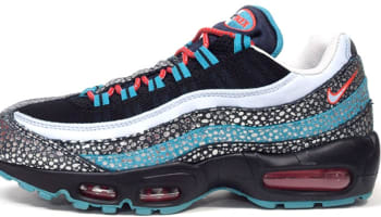 Nike Air Max '95 Deluxe QS Black/Anthracite-Catalina-Team Orange