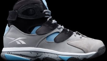 Reebok Shaq Attaq IV Black/Steel Grey-California Blue