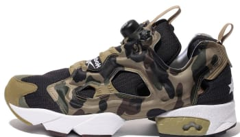 Reebok Instapump Fury Black/Earth-Moss Green