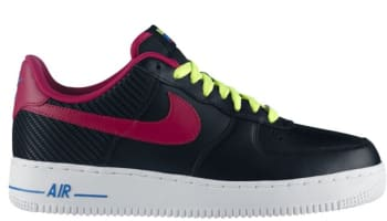 Nike Air Force 1 Low Black/Fireberry