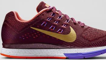 Nike Air Zoom Structure 18 Women's Deep Garnet/Bright Mango-Hyper Grape-University Red