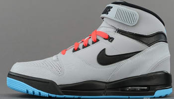 Nike Air Revolution Silver/Black-Gamma Blue-Atomic Red