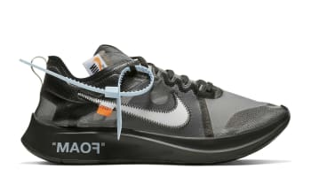Off-White x Nike Zoom Fly SP Black/White-Cone