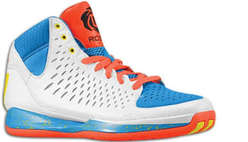 adidas Rose 3 White/Blue-Infrared-Sun