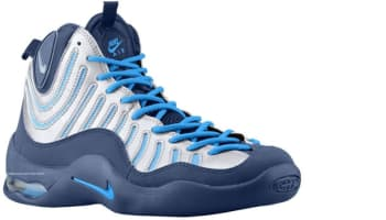 Nike Air Bakin' Midnight Navy/Metallic Silver-Photo Blue