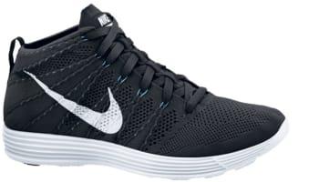 Nike Lunar Flyknit Chukka Black/White-Neo Turquoise-White