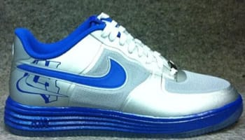 Nike Lunar Force 1 Low Fuse NRG Metallic Silver/Game Royal