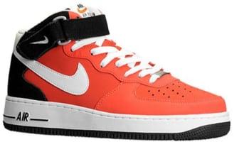 Nike Air Force 1 Mid Light Crimson/White-Black