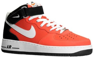 Nike Air Force 1 Mid Light Crimson/White-Black