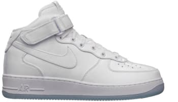 Nike Air Force 1 Mid CMFT Premium QS White/White
