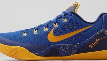 Nike Kobe 9 EM Gym Blue/University Gold-Obsidian