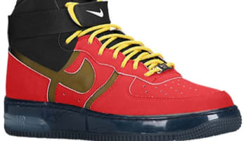 Nike Air Force 1 High Supreme Bakin' University Red/Black