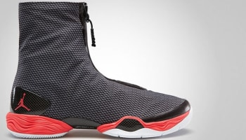 Air Jordan 28 Carbon Fiber Black/Bright Crimson
