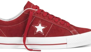 Converse Cons One Star Pro Red/White