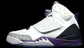 Jordan Son Of Mars White/Black-Club Purple-Cool Grey