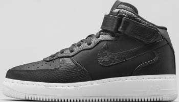 Nike Air Force 1 Mid CMFT SP Black/Team Orange-Black