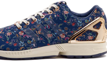 Limited EDT x adidas Consortium ZX Flux Blue/Metallic Copper