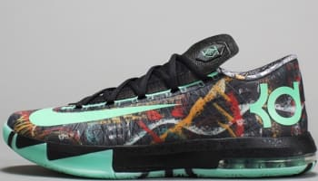 Nike KD VI AS Multi-Color/Green Glow-Black