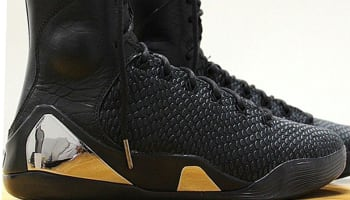 Nike Kobe IX High KRM EXT Black/Black