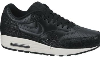 sale retailer 3b06b e2c83 Nike Air Max 1 Leather PA Black Black-Sea Glass