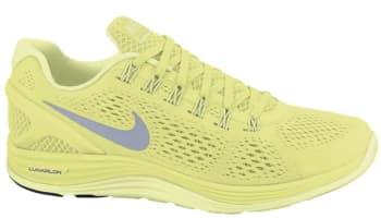 Nike Lunarglide+ 4 Women's Volt/Reflective Silver-Barely-Volt