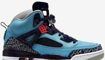 Jordan Spiz'ike Turquoise Blue/Infrared 23-Midnight Navy-Neutral Grey