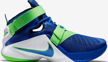 Nike Zoom Soldier 9 Game Royal/White-Green Strike