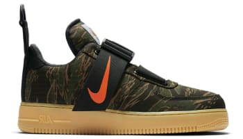 Carhartt WIP x Nike Air Force 1 Utility Low Camo Green/Total Orange/Gum/Light Brown