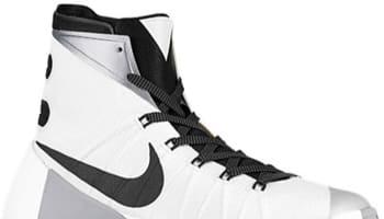 1ece809bff Nike Hyperdunk 2015 White Metallic Silver-Black