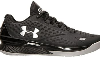 Under Armour Curry One Low Black/Stealth Grey-Metallic Silver