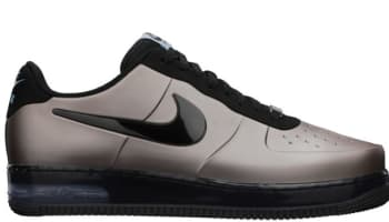 Nike Air Force 1 Foamposite Pro Low QS Flat Pewter/Black-Worn Blue