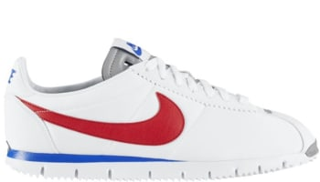 Nike Cortez NM QS White/Gym Red-Metallic Silver-Game Royal