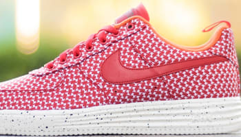 Nike Lunar Force 1 Low SP University Red/Team Orange-White