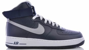 Nike Air Force 1 High Obsidian/Wolf Grey-White