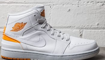 Air Jordan 1 Retro '86 White/Kumquat-Pure Platinum
