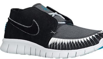 Nike Free Forward Moc 2 N7 Black/Dark Turquoise-White