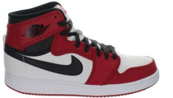 Air Jordan 1 Retro KO High OG White/Black-Gym Red