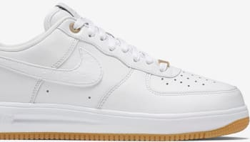 Nike Lunar Force 1 Low Premium White/White-White