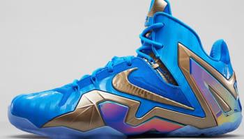 Nike LeBron 11 Elite SE Blue Hero/Metallic Zinc-Ice