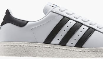 adidas Originals Superstar 80s White/Black