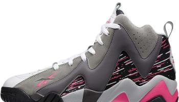Reebok Kamikaze II Mid Carbon/Sky Pink-Grey